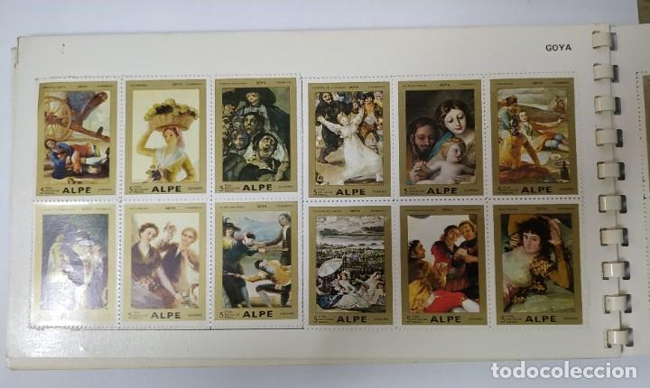 Sellos: Album de sellos - Pintores Famosos - Alpe - Foto 5 - 270569413