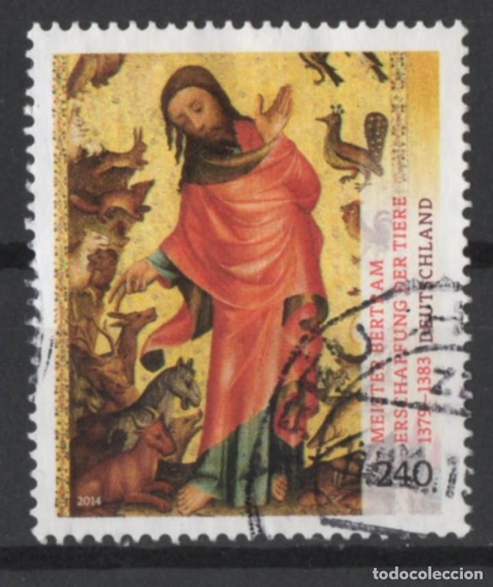 ALEMANIA 2014 MAESTRO BERTAM USADO * LEER DESCRIPCION (Sellos - Temáticas - Arte)