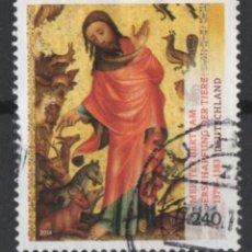 Sellos: ALEMANIA 2014 MAESTRO BERTAM USADO * LEER DESCRIPCION. Lote 270570608