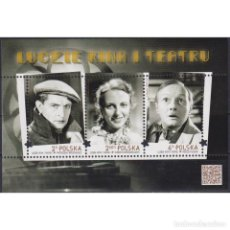 Sellos: ⚡ DISCOUNT POLAND 2016 ACHIEVEMENTS OF POLISH SCIENCE MNH - ACTORS, THEATER, MOVIE, MOVIE ST. Lote 276607548