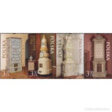 Sellos: ⚡ DISCOUNT POLAND 2021 MASONRY HEATER MNH - ART. Lote 276607943