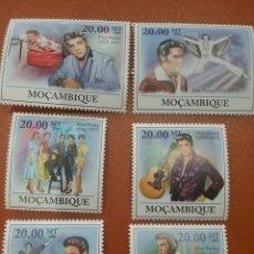 Sellos: SELLO MOZAMBIQUE NUEVOS/2009/ACTOR/CANTANTE/ELVIS/AARON/PRESLEY/FAMOSOS/CELEBRIDAD/. Lote 277079688