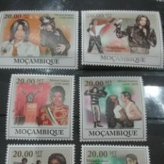 Sellos: SELLO MOZAMBIQUE NUEVOS/2009/ACTOR/CANTANTE/ARTISTA/POP/MUSICA/MICHAEL/JACKSON/FAMOSO/CELEBRIDADES/A. Lote 277079863