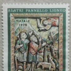 Sellos: 1975. ITALIA. 1246. ALATRI, MADERA ESCULPIDA DE LA VIRGEN (TALLA SIGLO XII) EN CONSTANTINOPLA. USADO. Lote 278803143