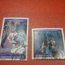 Sellos: SELLO NACIONES UNIDAS (VIENA) NUEVO/1995/4CONFE/INTERN/MUJER/PINTURA/AVES/LIBRO/NATURALEZA/PINTURA/F. Lote 287786563