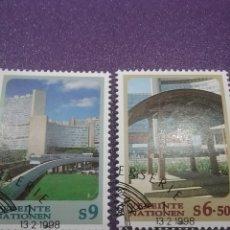 Sellos: SELLO NACIONES UNIDAS (VIENA) MTDO/1998/NN.UU/INSTRUMENTO/MUSICAL/ARTE/ARQUITECTURA/ESIFICIO/VISTAS. Lote 287916348