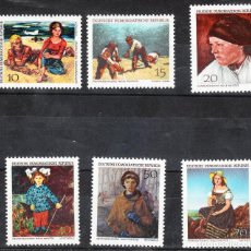 Sellos: 1968 NEUE MEISTER DDR **. Lote 288373698