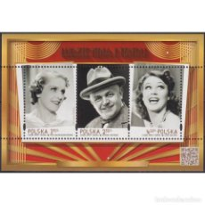 Sellos: ⚡ DISCOUNT POLAND 2016 ACTORS MNH - ACTORS, THEATER, MOVIE, MOVIE STARS. Lote 289986998