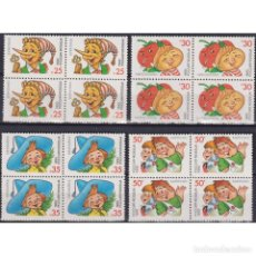 Sellos: ⚡ DISCOUNT RUSSIA 1992 CHARACTERS FROM CHILDREN'S BOOKS MNH - LITERATURE, FAIRY TALES, ANIMA. Lote 289988003