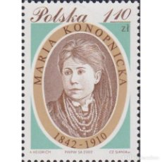 Sellos: ⚡ DISCOUNT POLAND 2002 THE 160TH ANNIVERSARY OF THE BIRTH OF MARIA KONOPNICKA MNH - FAMOUS W. Lote 289988463