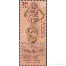 Sellos: ⚡ DISCOUNT POLAND 2004 THE 10TH GOVERNMENT POSTAGE STAMP PRINTERS CONFERENCE MNH - ART, PHIL. Lote 289988508
