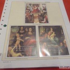 Sellos: 30 HOJITAS SELLOS OBRAS DEL MUSEO DEL PRADO ESPAÑA 2000 , EMITIDA PARA DISTINTOS PAISES COMO GRENADA. Lote 294430598