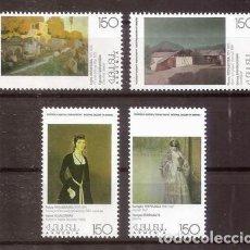 Sellos: ARMENIA. 1997. 4 VALORES ***. PINTURA.. Lote 295554958