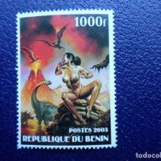 Sellos: .BENIN, 2003, SELLO NUEVO SIN FIJASELLOS. Lote 296575473