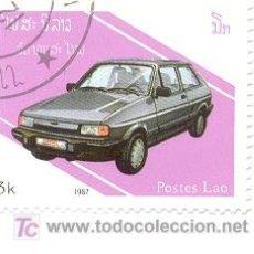 Sellos: 2LAOS-787. SELLO USADO LAOS. AÑO 1987. YVERT Nº 787. AUTOMOVILES MODERNOS. Lote 7805941