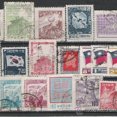 Sellos: LOTE DE SELLOS DE PAISES ASIATICOS CHINA,JAPON ETC.. Lote 23069793