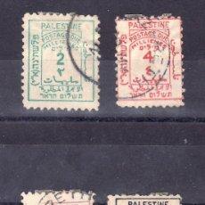 Sellos: PALESTINA MANDATO BRITANICO TASA 2/5 USADA,. Lote 24504142