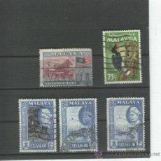 Sellos: MALAISIA.MALAYSIA. MALASIA. SELLOS. ANTIGUOS.. Lote 25972975