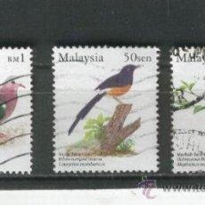 Sellos: MALAYSIA.MALAISIA.MALASIA.SELLOS.PAJAROS.PAISES EXOTICOS.. Lote 31475640