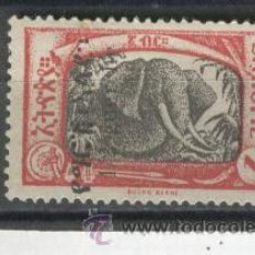 Sellos: SELLOS ETIOPIA ANTIGUOS SOBRECARGA. Lote 35381223