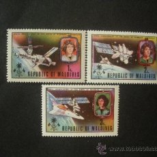 Sellos: MALDIVAS 1974 IVERT 458/60 *** 500º ANIVERSARIO NACIMIENTO NICOLAS COPERNICO. Lote 35456586