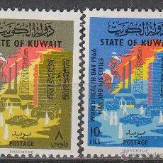 Sellos: KUWAIT IVERT Nº 309/10, DIA MUNDIAL DE LA SALUD, NUEVOS. Lote 41974971