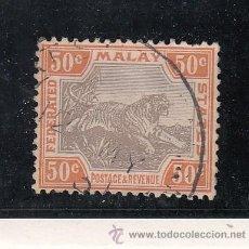 Sellos: MALASIA (FEDERACION) 22 USADA,. Lote 42090836