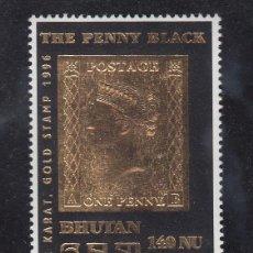 Sellos: BHUTAN 1129 SIN CHARNELA, -PENNY BLACK- . Lote 43770074