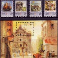 Sellos: MACAO. 1997. VISTAS DE MACAO. Lote 44637120