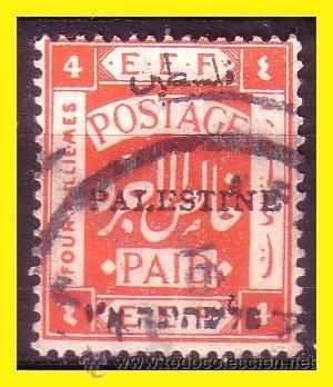 PALESTINA 1920 IVERT Nº 18A (O) (Sellos - Extranjero - Asia - Otros paises)