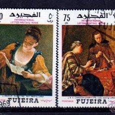 Sellos: FUJEIRA 1968, SERIE: PINTURAS *.MH. Lote 53318391