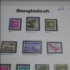 Sellos: LOTE SELLOS ORIGINALES BANGLADESH . Lote 53546878