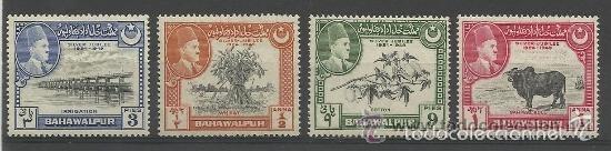 BAHAWALPUR. PANYUD (.PAKISTAN) 1949.(16-358 )SERIE.. **.MNH (Sellos - Extranjero - Asia - Otros paises)