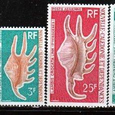 Sellos: NUEVA CALEDONIA Y DEPENDENCIAS 1972 (16-396) SERIE. CARACOLAS MARINAS . **.MNH. Lote 57148171