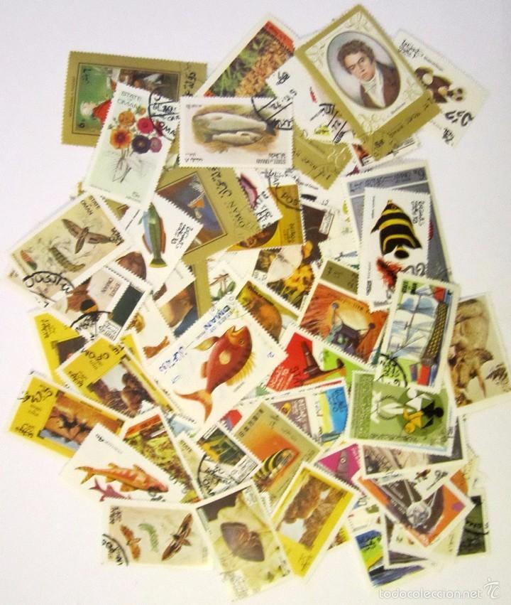 Sellos: 183 sellos usados OMAN - Foto 2 - 58722095