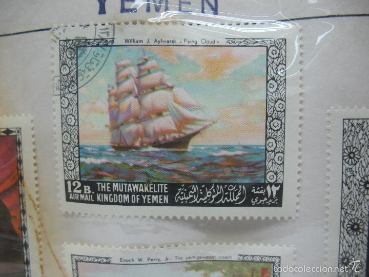 Sellos: Lote de 4 sellos de Yemen - Foto 3 - 60565731