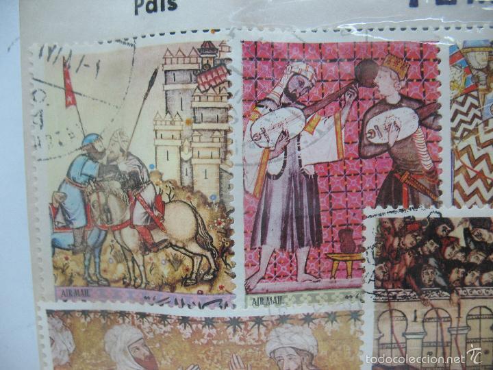 Sellos: Lote de 7 sellos de Yemen - Foto 2 - 60566559