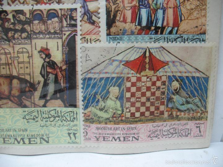 Sellos: Lote de 7 sellos de Yemen - Foto 6 - 60566559