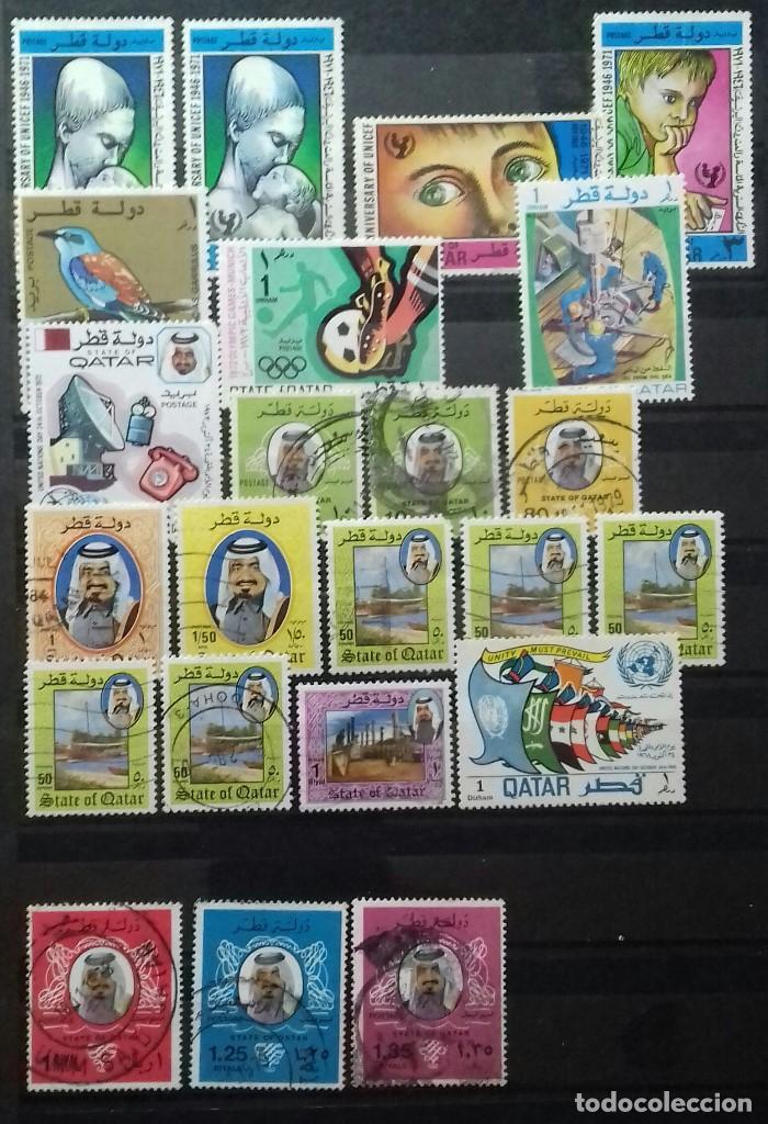 Sellos: sellos de Catar (Qatar) - Foto 2 - 151460946