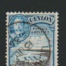 Sellos: CEILAN ( COLONIA BRITÁNICA)1935-36.-.6 CENT.YVERT 240.USADO.. Lote 78270701