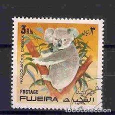 Sellos: FAUNA SALVAJE. FUJEIRA. SELLO AÑO 1972. Lote 87636976