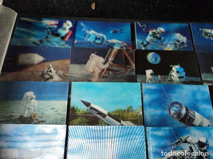 Sellos: 31 sellos TRIDIMENSIONALES y dos h.b.diferentes valores de bhutan la conquista del espacio (ESCASOS) - Foto 2 - 110080755