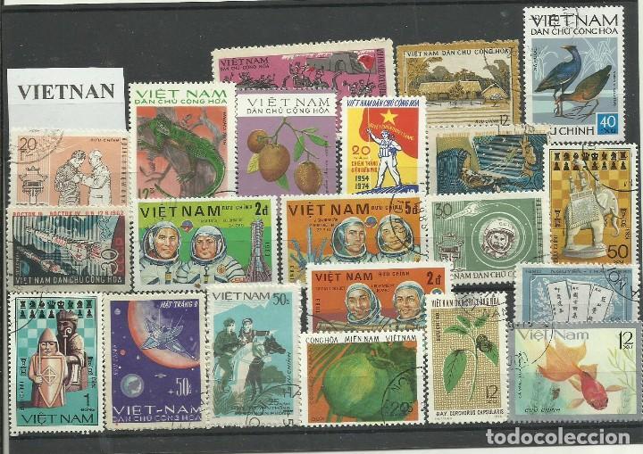 LOTE DE SELLOS DE VIETNAM (Sellos - Extranjero - Asia - Otros paises)