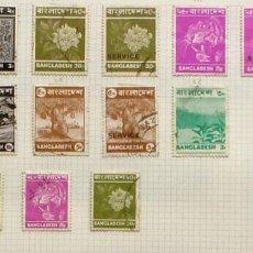 Sellos: SELLOS BANGLADESH FOTO 983 - LOTE 252 - 17 SELLOS, USADOS. Lote 117229011