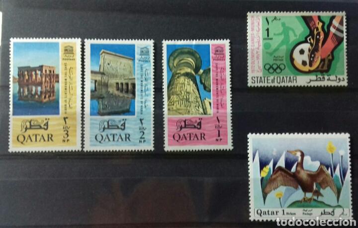 Sellos: sellos de Catar (Qatar) - Foto 3 - 151460946