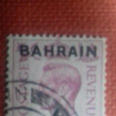 Sellos: BAHRAIN 1948. SG57. SELLO BRITÁNICO SOBRECARGADO. JORGE VI. MATASELLADO.. Lote 131870934