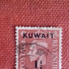 Sellos: KUWAIT 1948. SG66. SELLO BRITÁNICO SOBRECARGADO. JORGE VI. USADO.. Lote 131940590