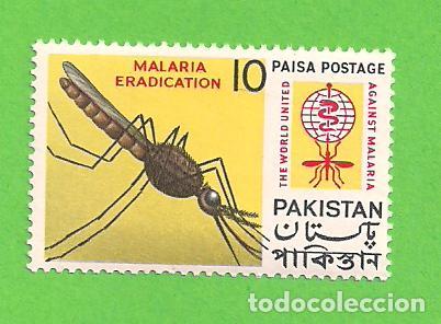 PAKISTÁN. - MICHEL 163 - ERRADICACIÓN DE LA MALARIA. (1962).** NUEVO Y SIN FIJASELLOS. (Sellos - Extranjero - Asia - Otros paises)