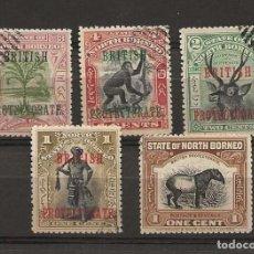 Sellos: LOTE SELLOS BORNEO, COLONIA BRITANICA. Lote 152561718