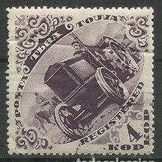 Timbres: TOUVA 1936- SELLO NUEVO C/ FIJASELLO (TIENE DOBLEZ). Lote 153681562
